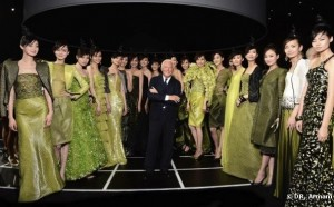 Armani dévoile sa collection à Pékin - LuxeTentations.fr
