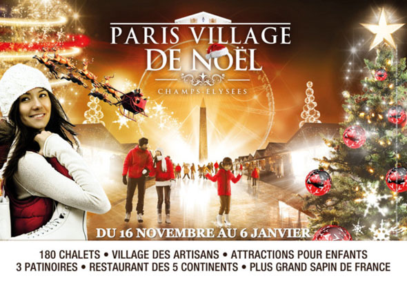 Paris Village de Noël - LuxeTentations.fr
