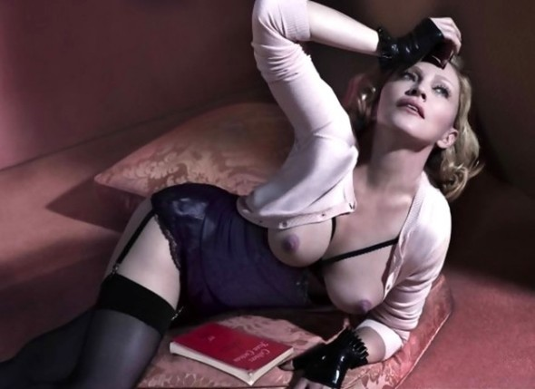 Madonna Interview luxetentations.fr