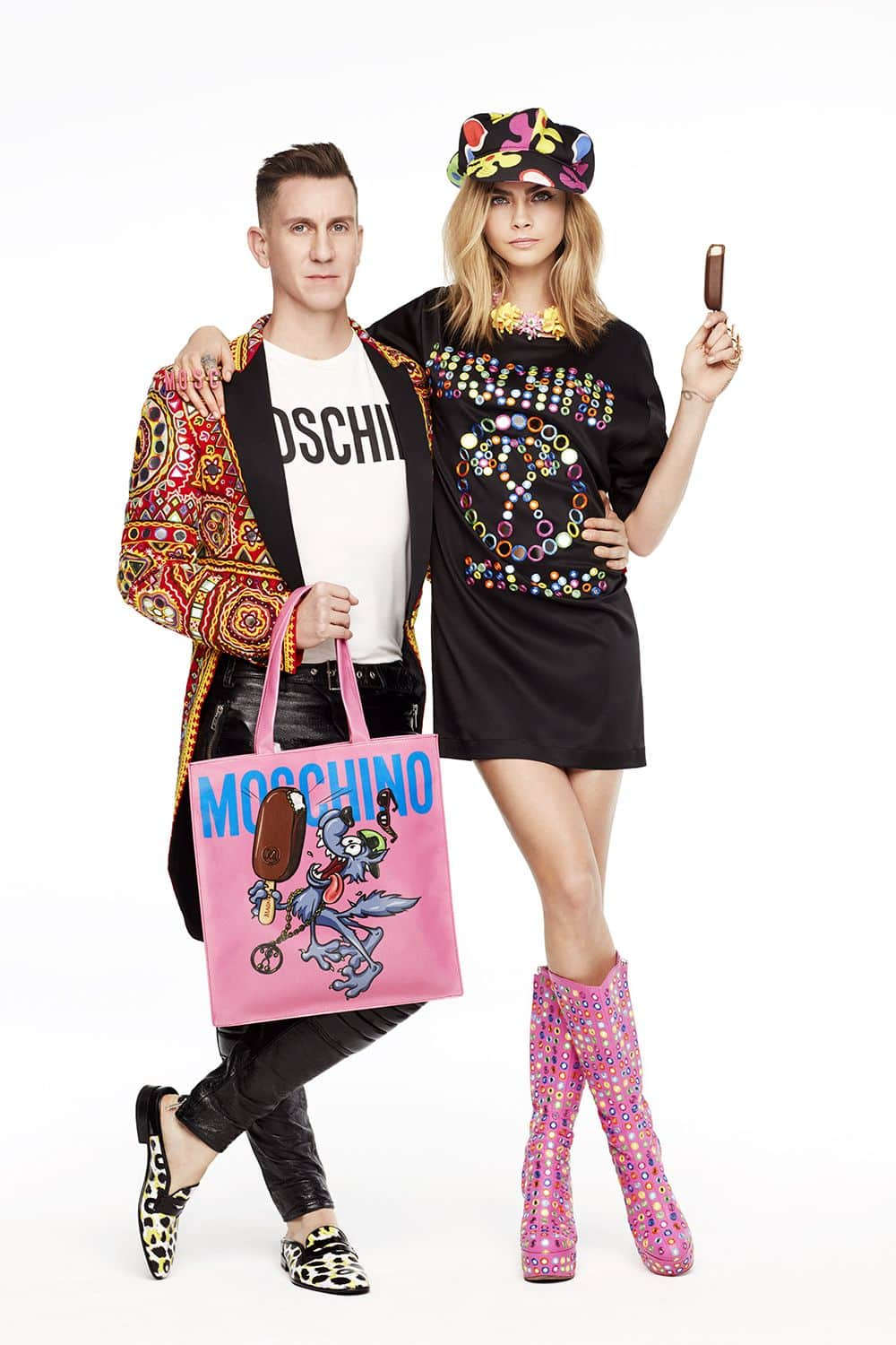 "Jeremy Scott de Moschino signe une collection capsule de ""Tote Bags"" pour Magnum"