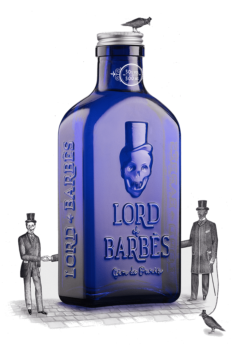 Lord of Barbès, un gin artisanal made in France