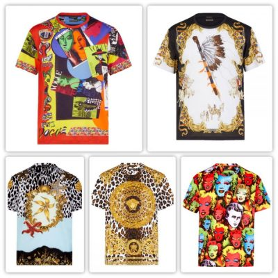 T-shirt Tribute, la collection hommage de Donatella Versace