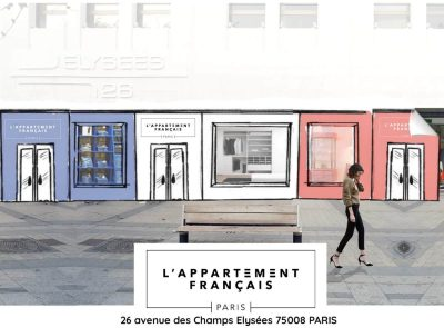 L'Appartement Français, un premier Pop-up Store éphémère à Paris