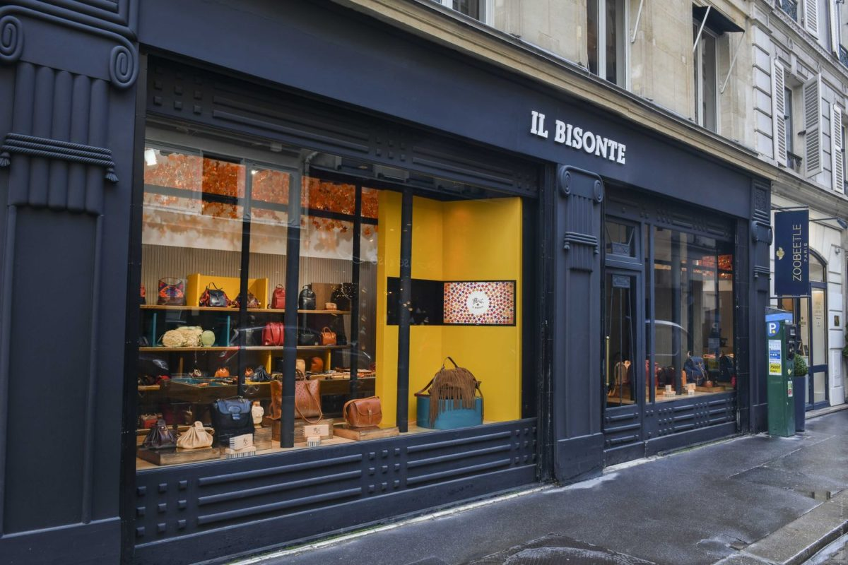 Un Pop-up Store Il Bisonte au coeur de Paris