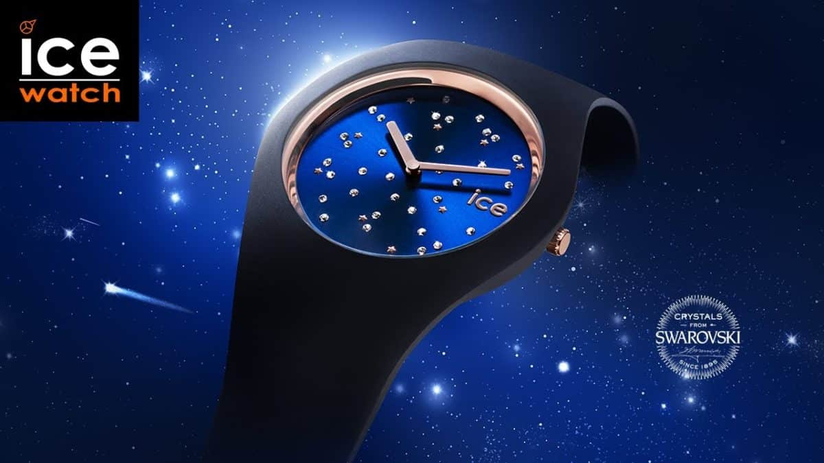 Ice Cosmos, création scintillante d'Ice Watch