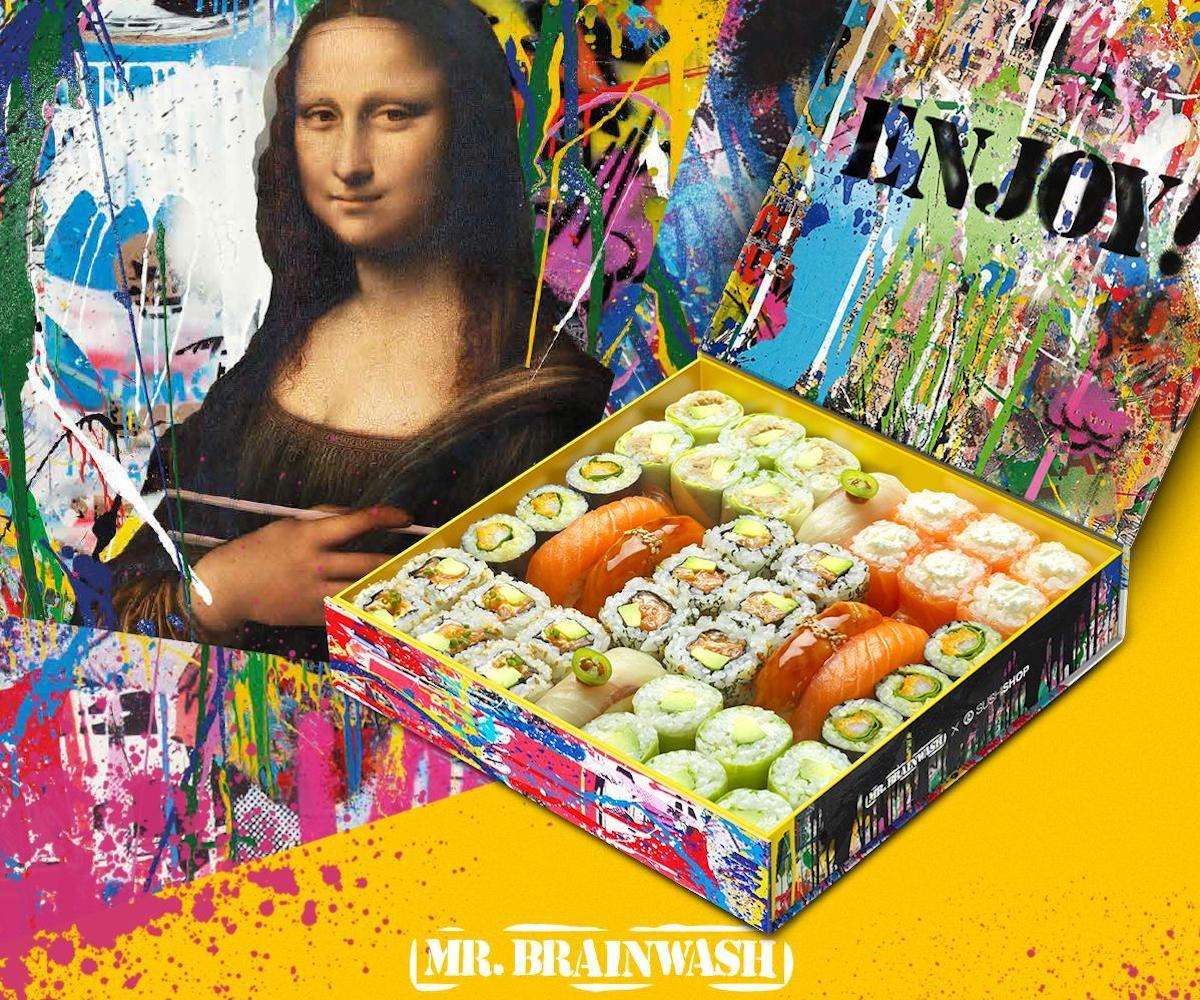 Sushi Shop Mr Brainwash - Luxetentations.fr