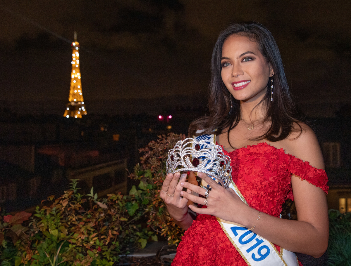 Julien d'Orcel révèle la couronne Miss France 2020